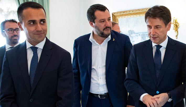 Con le elezioni in Abruzzo ribaltati i rapporti di forza nel governo: Lega davanti al M5S