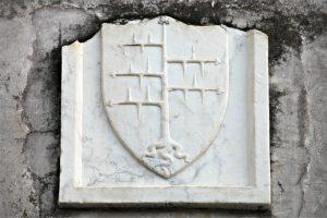 """Lo stemma dei Malaspina, ramo dello """"Spino Secco"""""""