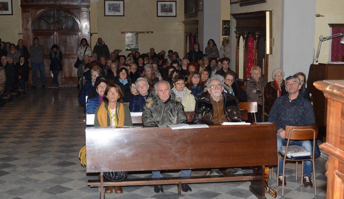 Grande afflusso di fedeli a Pontremoli per la festa della Madonna di Lourdes