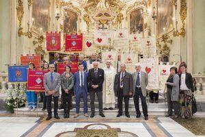 Foto di Gruppo dei Fratres Provinciali, nel Duomo di Pontremoli