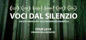 """Lo locandina del film """"Voci dal silenzio"""""""