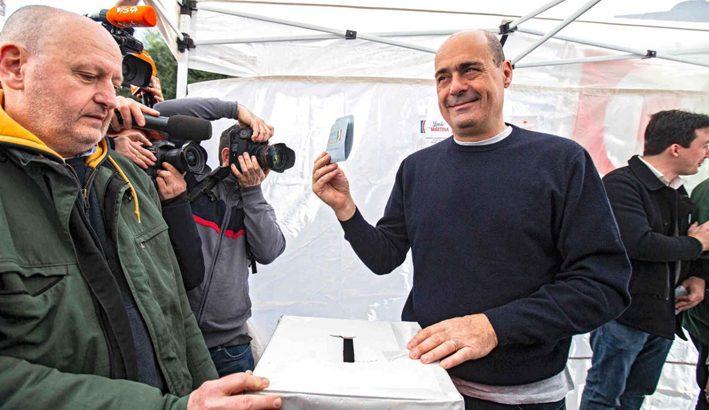 Nicola Zingaretti di fronte alla ristrutturazione del Partito Democratico