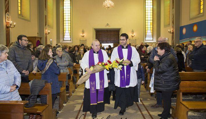 Mulazzo ha accolto il suo nuovo pastore, donMarco Giuntini