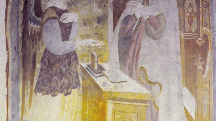Tre opere sul tema dell' Annunciazione per un itinerario a Pontremoli