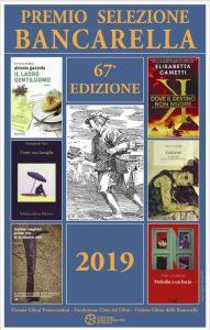 Il manifesto della 67a edizione del premio Bancarella con le copertine dei sei libri finalisti