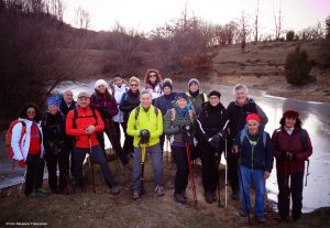 Foto di gruppo del gruppo Mangia Trekking a Sassalbo