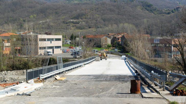 Tempi ormai brevi per la riapertura del ponte di Santa Giustina