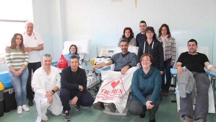Dai Fratres di Bagnone arrivano 14 donatori