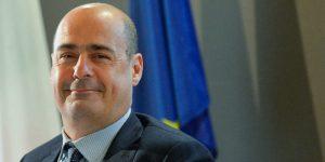 Il neosegretario Pd, Nicola Zingaretti. Anche nella Provincia di Massa Carrara ha ottenuto oltre il 50% dei consensi