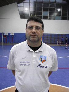 Michele Novelli, il mister dell'under 18 ha sostituto lo squalificato Marcucci