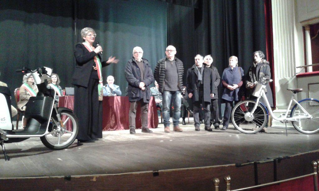 31 gennaio 2019. Durante la festa di San Geminiano il sindaco Lucia Baracchini ha premiato i dipendenti comunali andati in pensione nel 2018