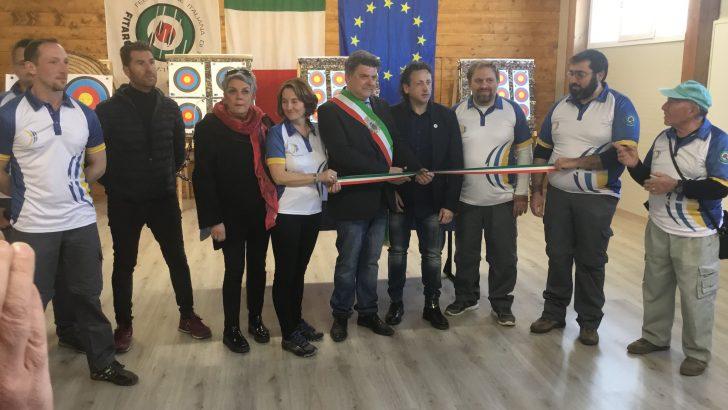 Fivizzano: inaugurata la nuova palestra per il tiro con l'arco