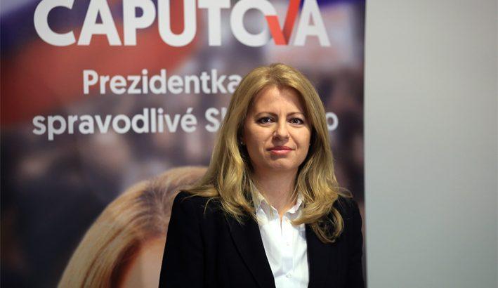 Zuzana Caputova è la prima presidente donna della Slovacchia