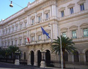 Palazzo Koch a Roma, sede della Banca d'Italia
