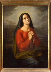 """Pietro Cocchi, """"Madonna Addolorata"""". Olio su tela (1825). Duomo di Pontremoli"""
