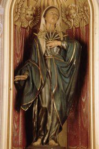 Pontremoli, chiesa di San Nicolò. Madonna Addolorata