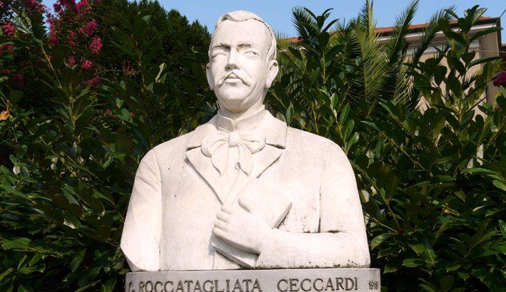 Ceccardo Roccatagliata Ceccardi padre dei cantori della terra ligure