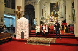 La Veglia delle Palme a Pontremoli, nella chiesa di San Francesco