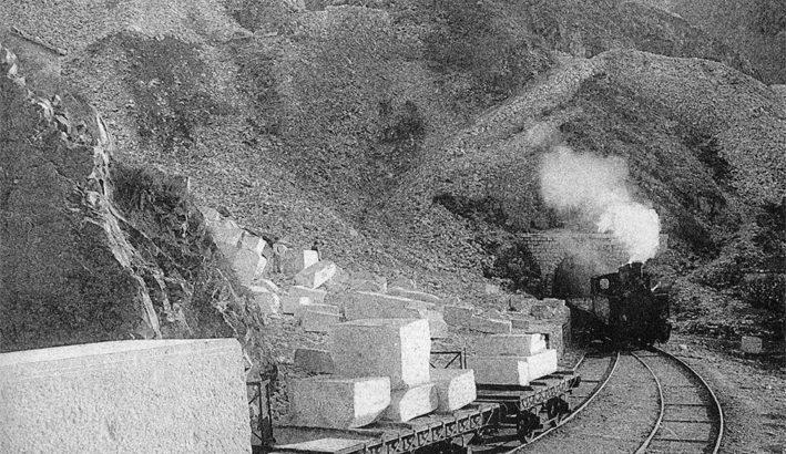 A Carrara una mostra sulla Ferrovia Marmifera