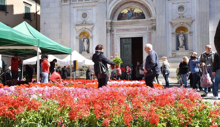 Con il Bancarel'fiore a Pontremoli tutti i colori della primavera