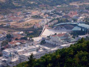 Panorama del santuario a San Giovanni Rotondo