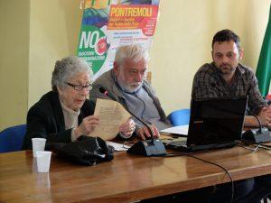 """Graziella """"Lalla"""" Tassi, Angelo Angella e Andrea Ventura"""
