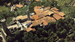 Il borgo di Malgrate. Veduta aerea