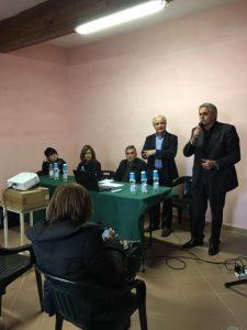 """Un momento de """"Agorà – La salute in piazza"""" svoltosi a Casola con la tavola rotonda organizzata dalla Società della Salute"""