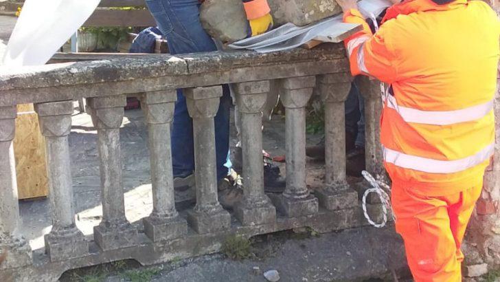 La comunità di Scorcetoli amareggiata per lo spostamento della statua stele