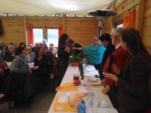 """Un momento dell'VIII edizione del concorso """"Torta d'erbi"""" di Scorcetoli"""