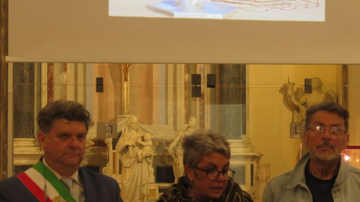 Fivizzano: il conferimento della cittadinanza benemerita allo scultore Alfredo Sasso