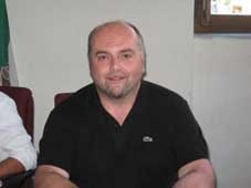 Il candidato Mirko Moscatelli