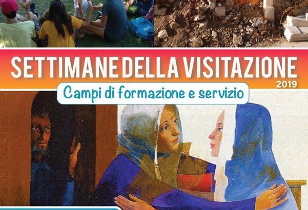 """""""Settimane della Visitazione"""" in aiuto delle popolazioni colpite dal terremoto nel 2016"""