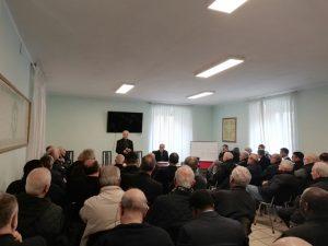 L'Assemblea del clero diocesano in seminario a Massa