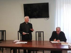 Mons. Mario Meini, Vescovo di Fiesole, con il Vescovo Giovanni