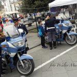 Bambini sulle moto della Polizia Stradale