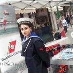 Lo stand della Guardia Costiera della Marina Militare