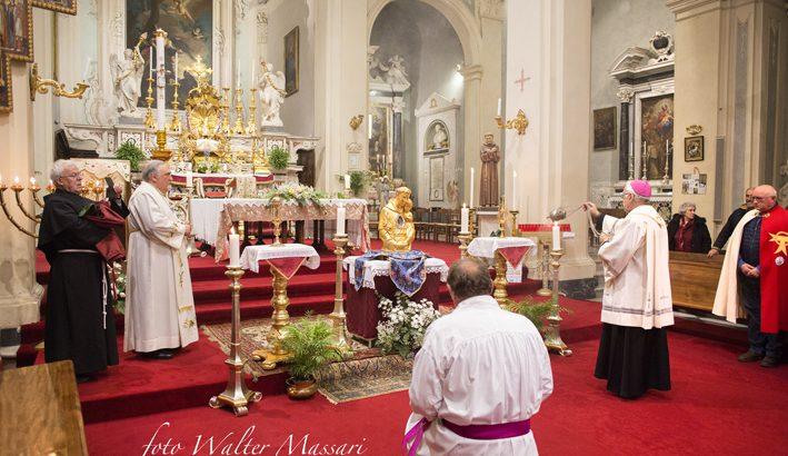 La visita a Pontremoli delle reliquie dei SS. Francesco, Antonio e Bernardetta