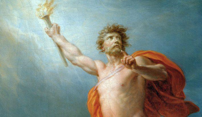 Prometeo dona all'uomo il fuoco: è un dire per favola un percorso di civiltà