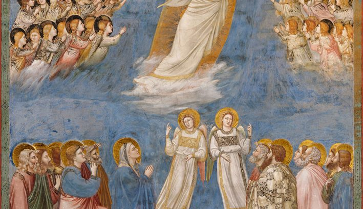 Ascende il Signore Gesù tra canti di gioia