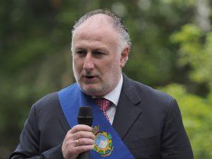 Gianni Lorenzetti presidente della provincia di Massa Carrara