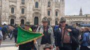 L'orgoglio alpino lunigianese al raduno di Milano
