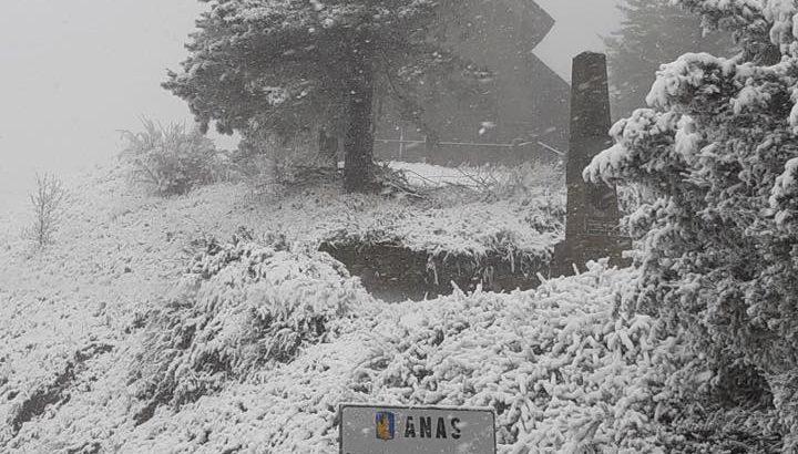 Maltempo in Lunigiana: con maggio è tornata anche la neve