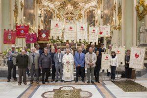 Foto di gruppo in Duomo, al termine della S. Messa, dei Fratres (foto Walter Massari)