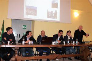 """Un momento della presentazione della Ciclovia """"Castelli del Magra"""""""