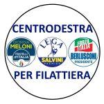 Il logo della lista centro destra per Filattiera