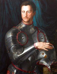 Cosimo I de' Medici in un ritratto del Bronzino