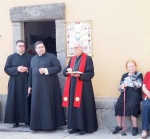 Il Vescovo Giovanni a Caprigliola per l'intitolazione dell'oratorio a don Romei