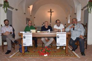 I relatori al convegno che si è svolto nella chiesa di Gragnana a Malgrate