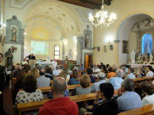 La parrocchiale di Bosco in occasione delle presentazione del libro